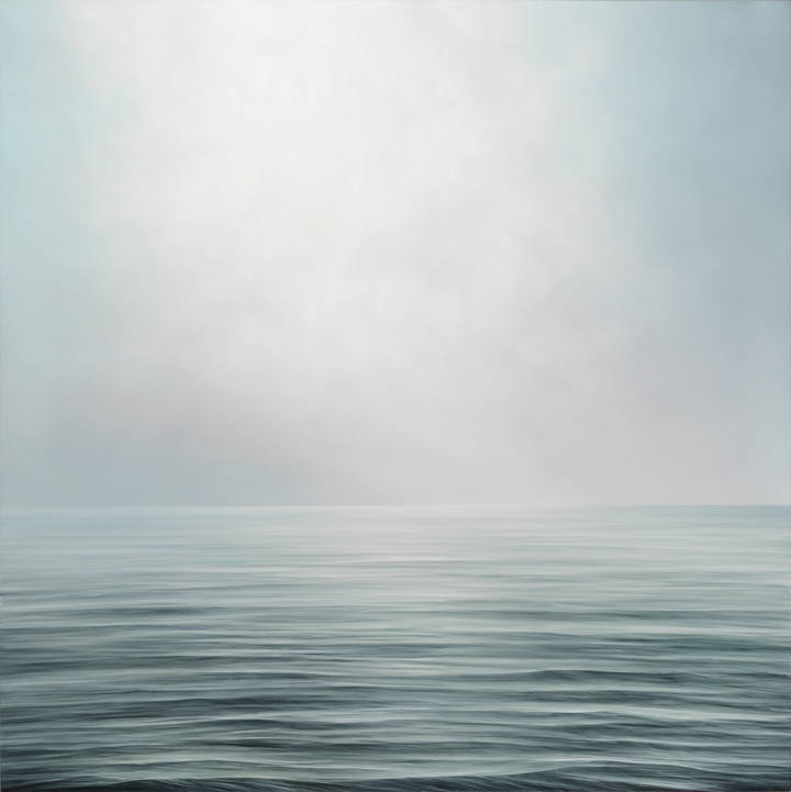 "Rising Light #561, oil on panel, 36"" x 36"", 2016"