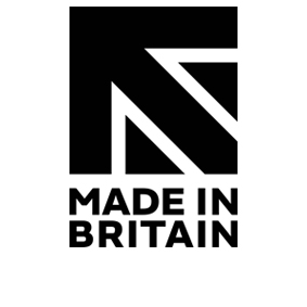 We use the Made in Britain marque which helps customers identify British made products & supports & promotes British manufacturing