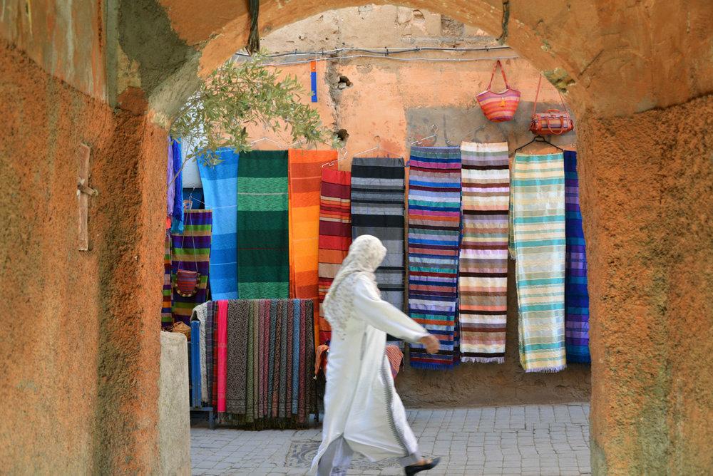 London & Brighton Portrait Photographer- Street in Marrakesh