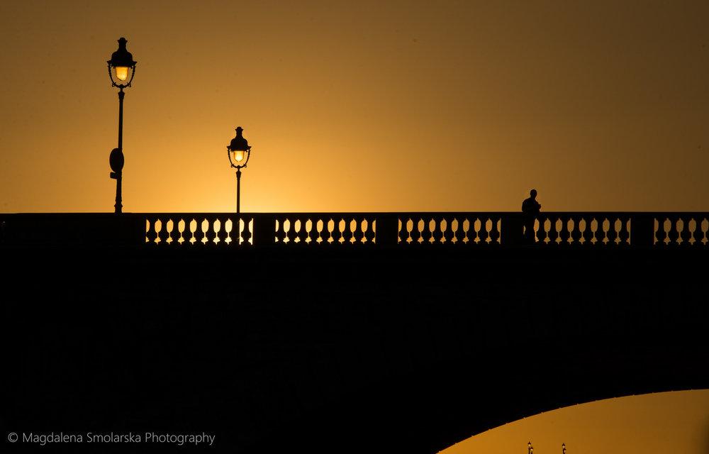 London & Brighton Portrait Photographer- Sunset in Paris