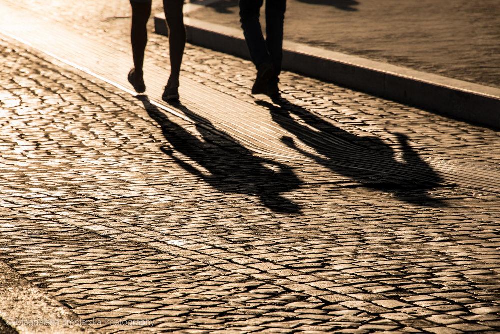 London & Brighton Portrait Photographer- Walking shadows in Rome with Magdalena Smolarska