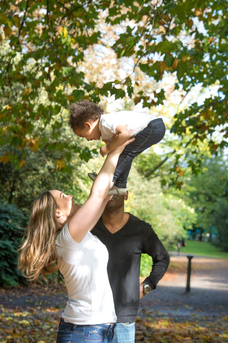 London & Brighton Portrait Photographer- Having fun during family photo session