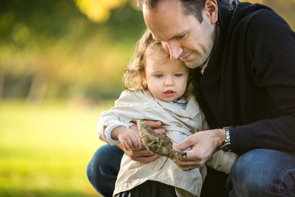 London & Brighton Portrait Photographer- Father and daughter portrait