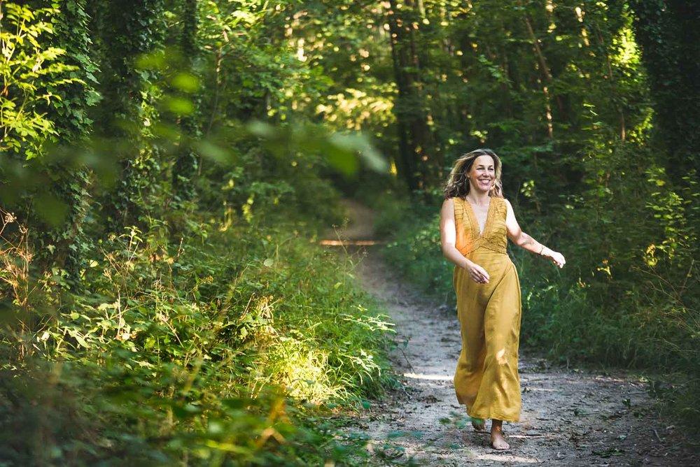 Outdoor Lifestyle Portrait Photography capturing movement and freedom, Magdalena Smolarska Personal Brand Photographer based UK (London & Brighton), travel Internationally too