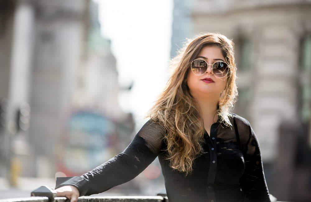 Influencer Lifestyle Photoshoot in the central London with Personal Brand Portrait Photographer from Brighton