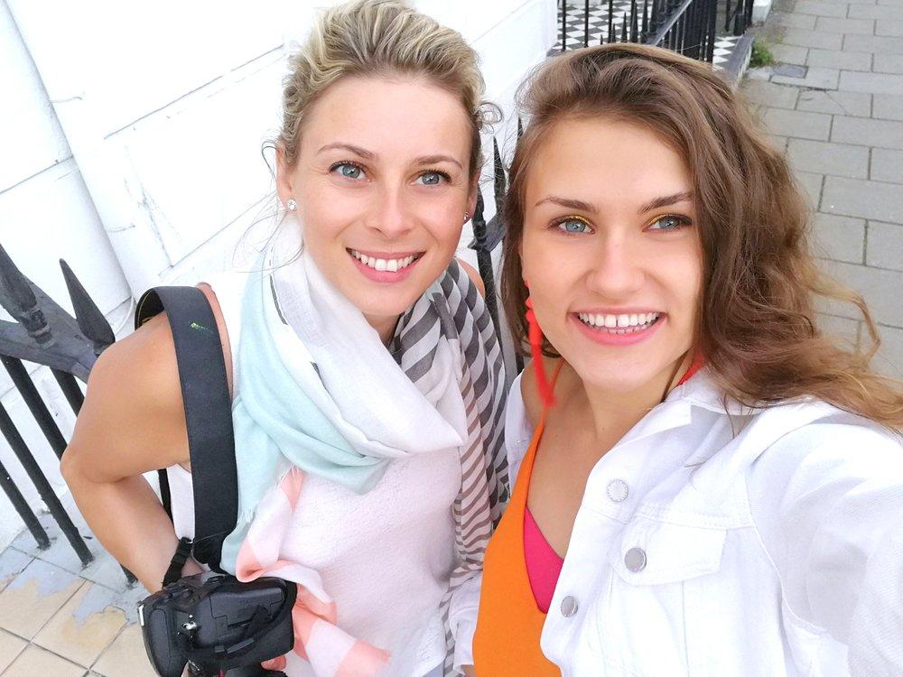 Lifestyle Photoshoot with upcoming model in Brighton with Portrait Photographer Magdalena Smolarska