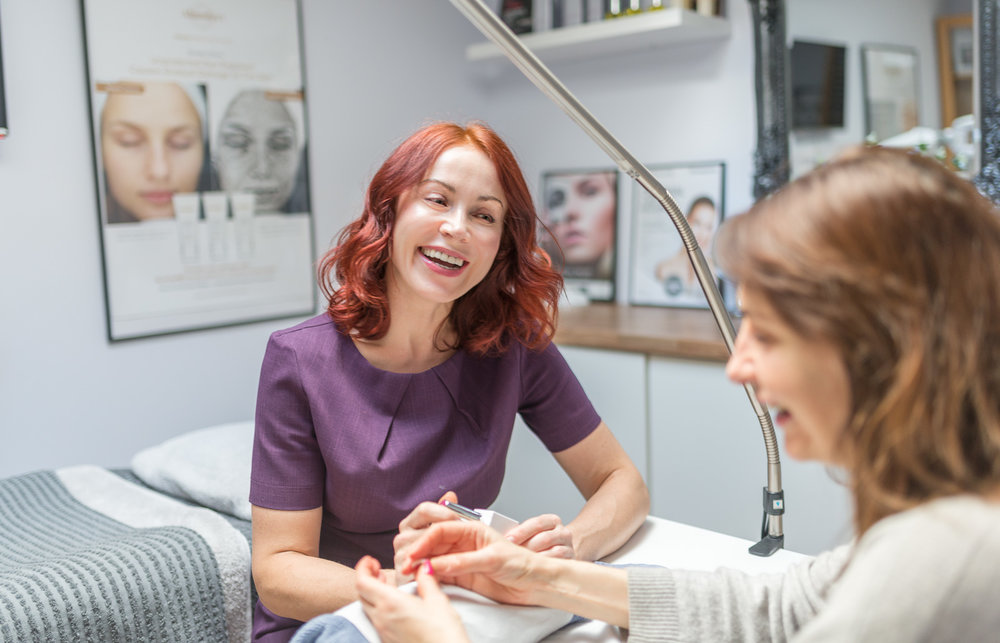 Skin Care Clinic Brand Photography by Professional Photographer from Brighton