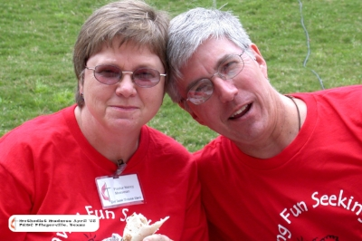 Rev. Nancy and David Mossman