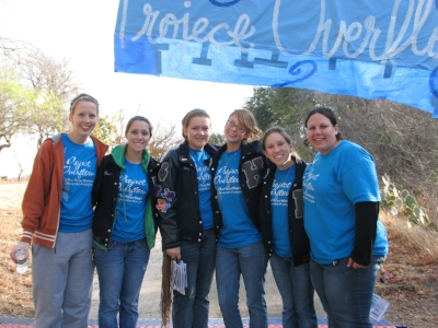 L to R: Julie Isslieb, Courtney Kuehner, Dayna Coppedge,   Sarah Torok, Ashley Davis, Cortney Smith Hollinger.