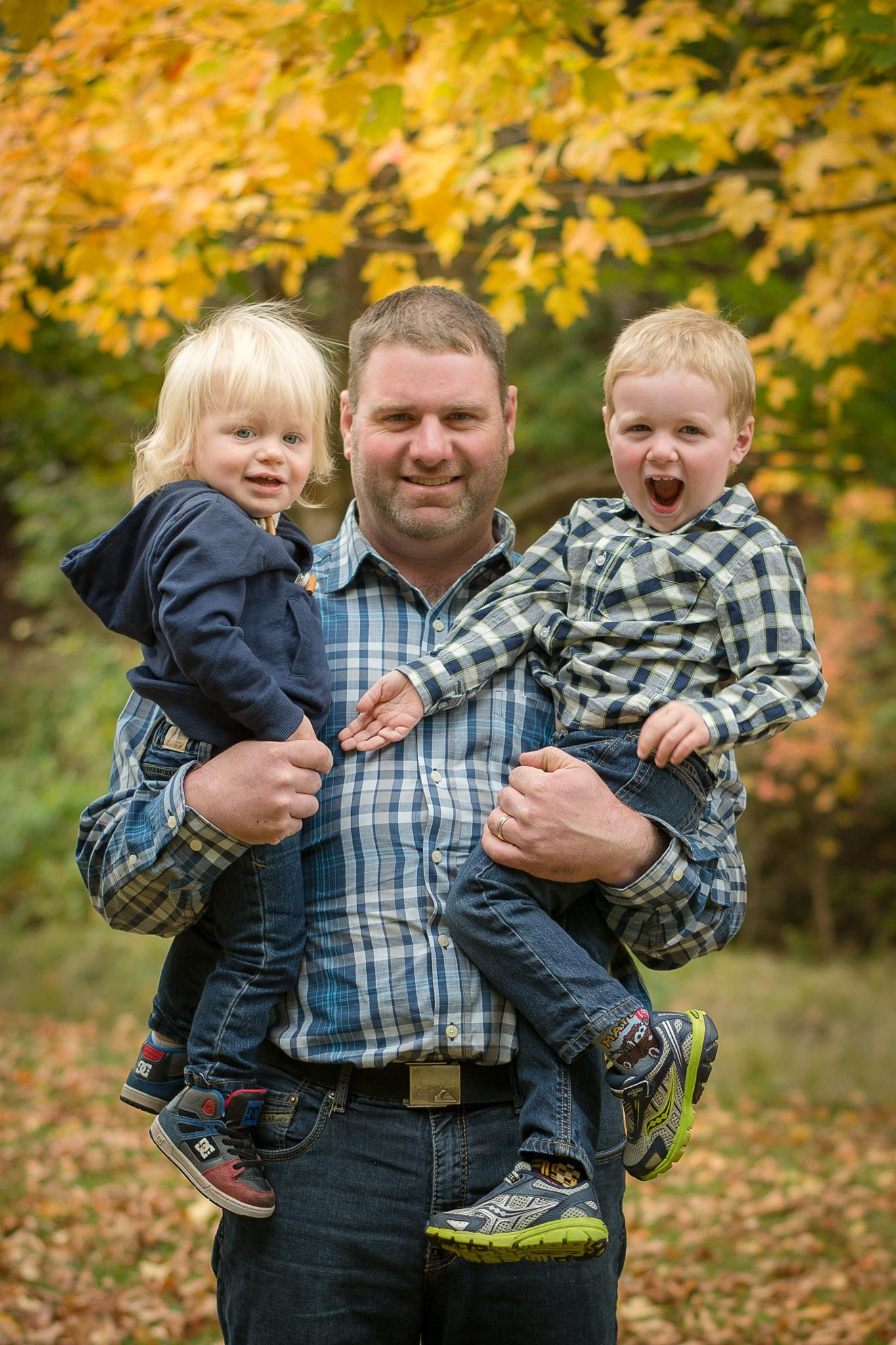 Father and Sons | Truro Photographer