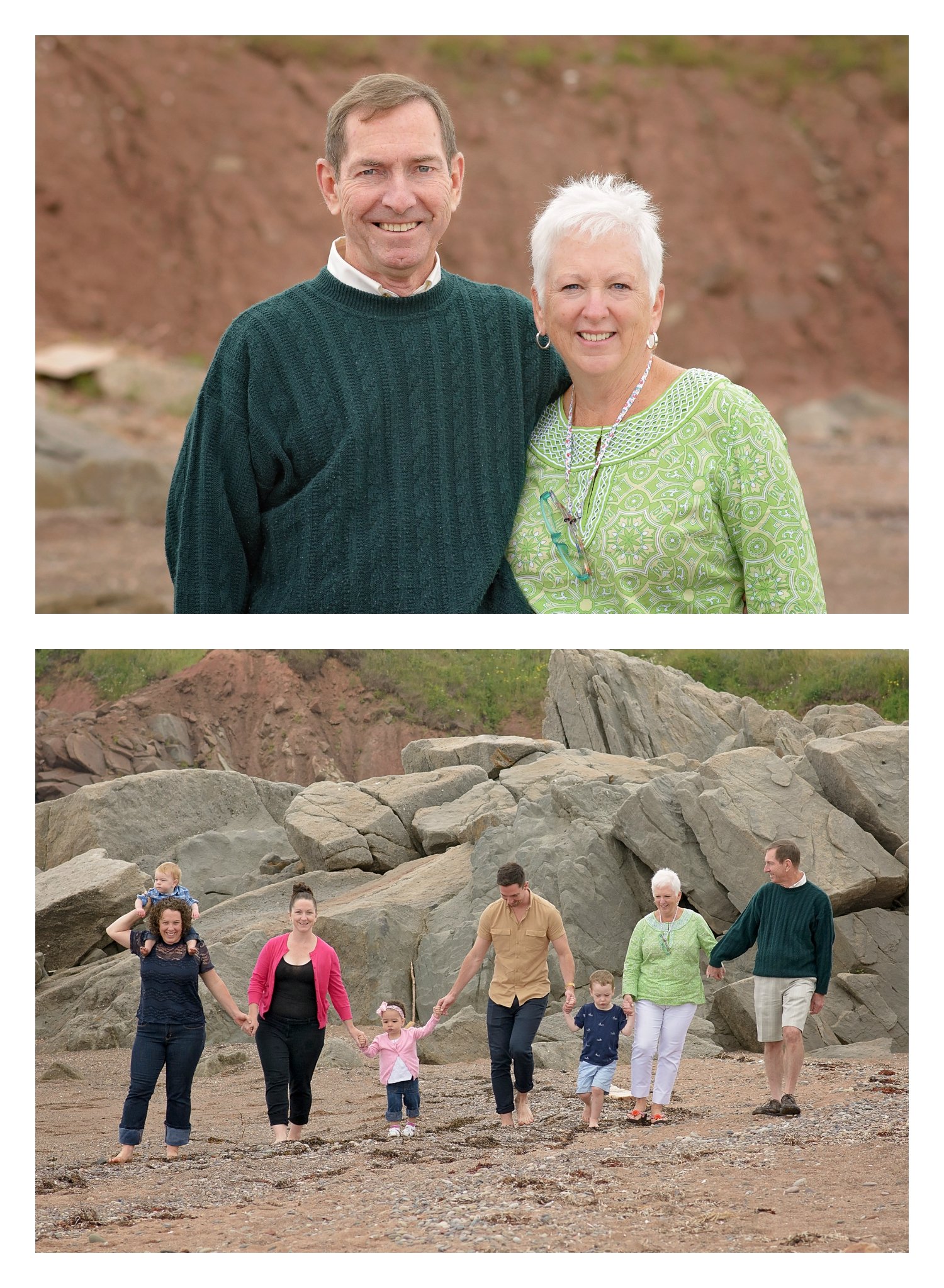 family photographer vacation