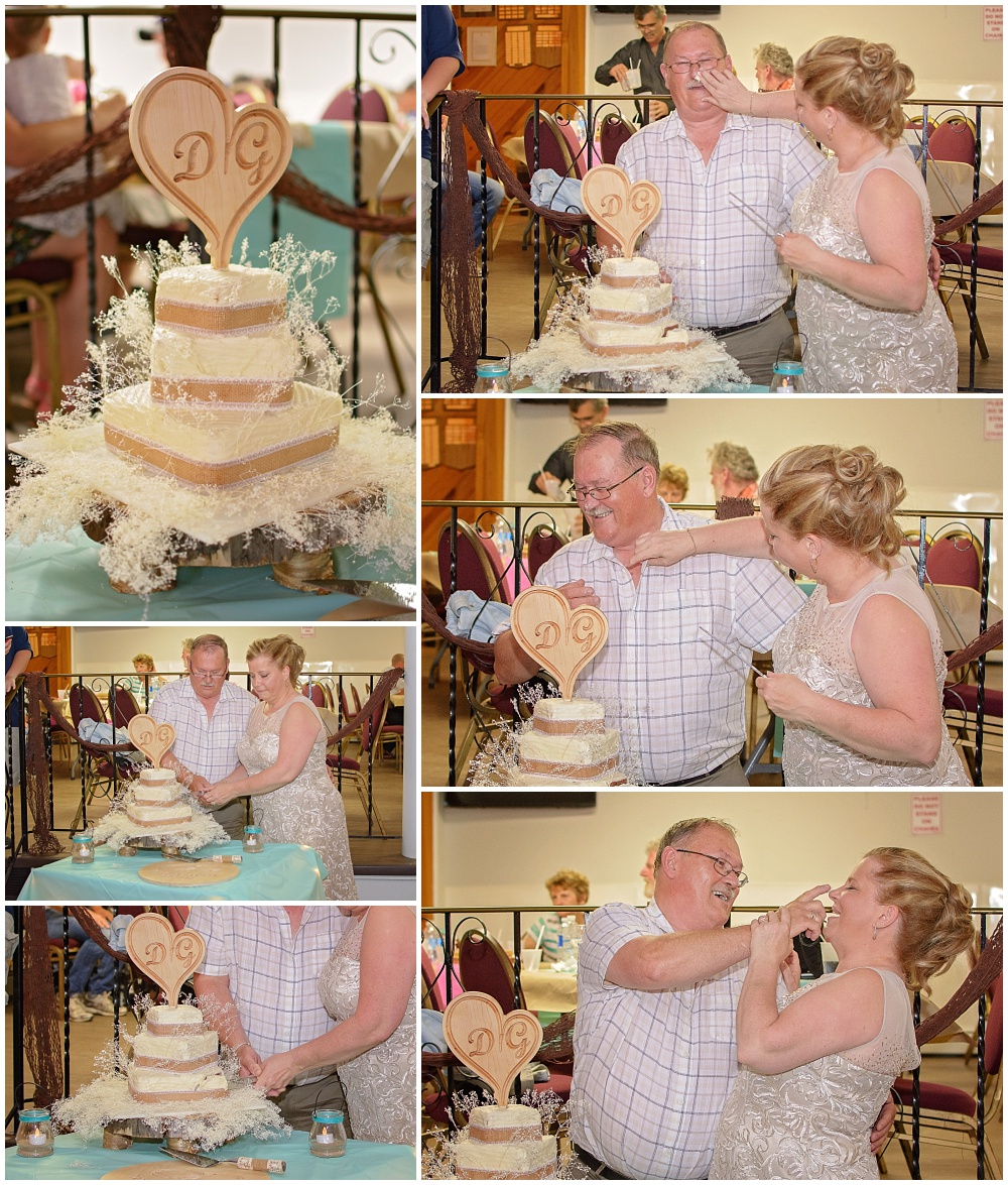 Wedding Pictures Truro NS - Reception Cake Cutting