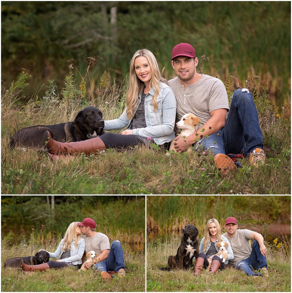 Couple and Dogs Outdoor Photos