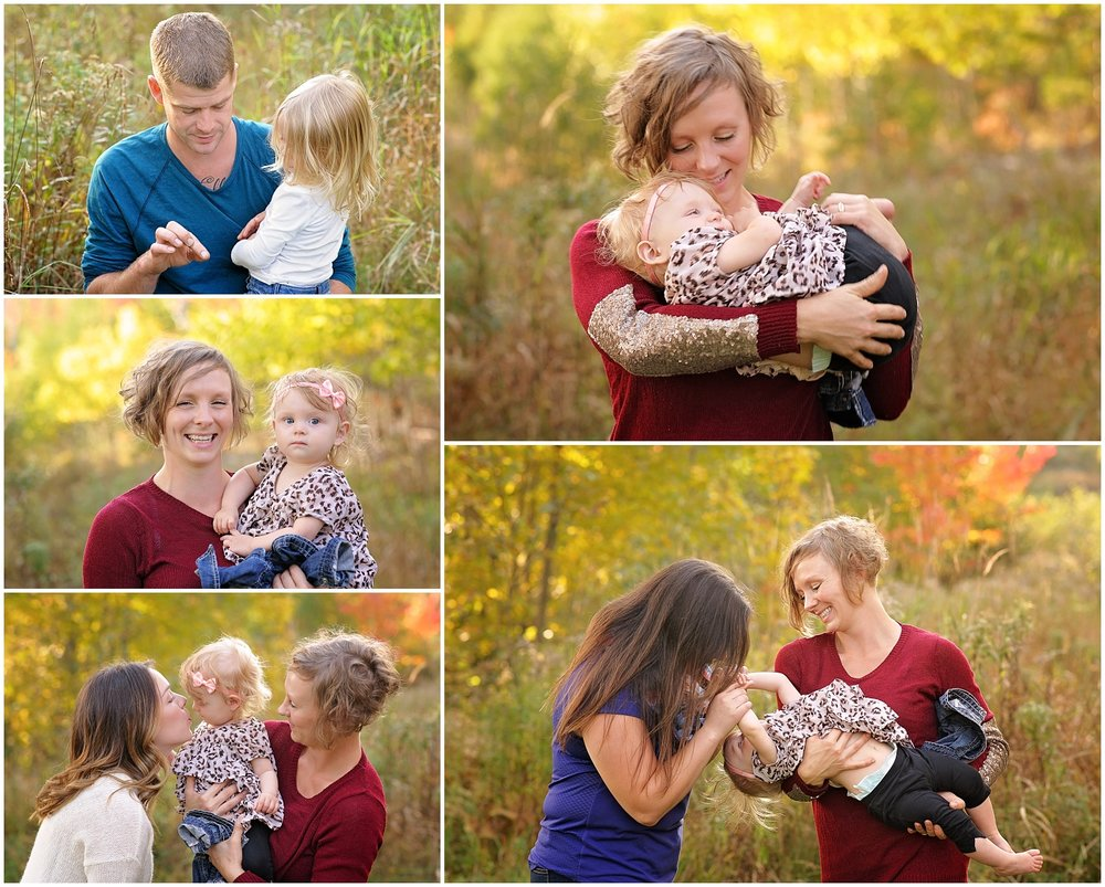 The Campbells - Extended Family Photos