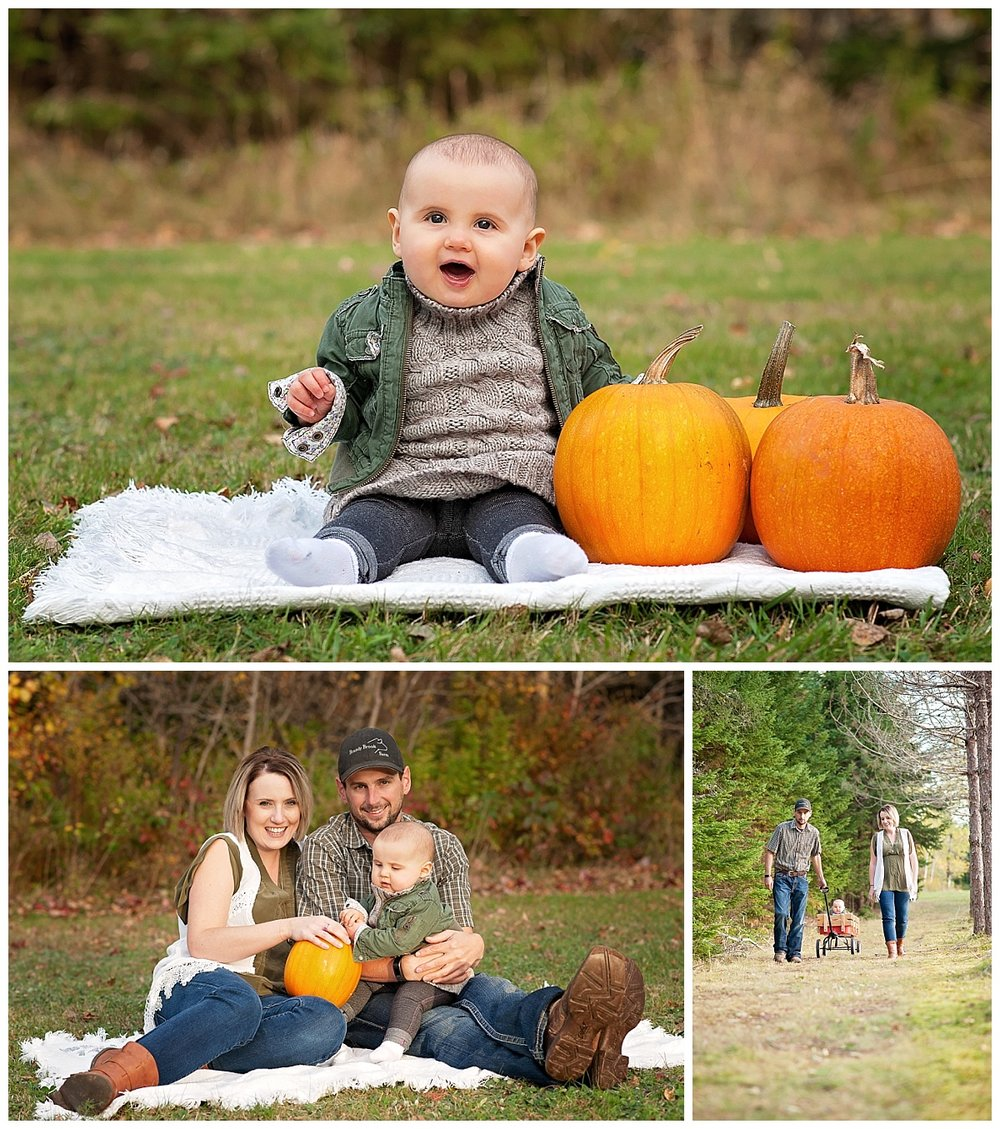 Morgan, Andrew and Hudson - Family Photos