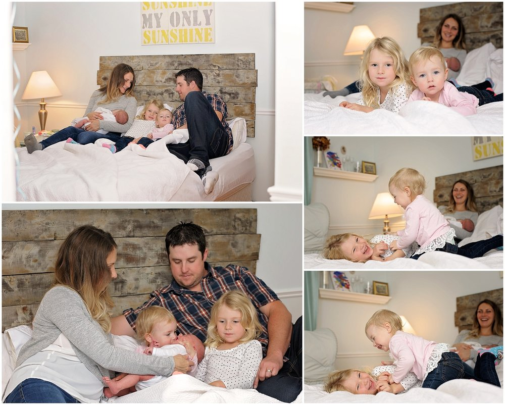The Fitzgerald Family - Newborn Family Photos