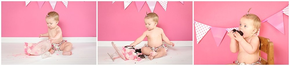 Darla's First Birthday | Cake Smash