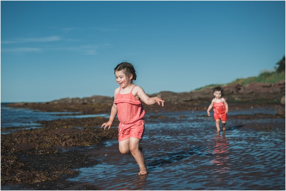 VanOirschot Girls - Brule Beach Fun - Children's Photos