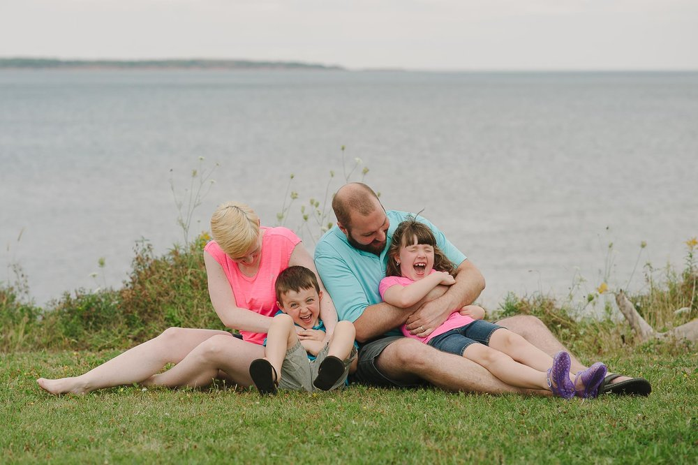 Heffernan Family Photos Summer Beach Vacation Malagash