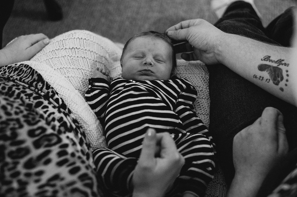 Newborn Documentary Photos Halifax NS