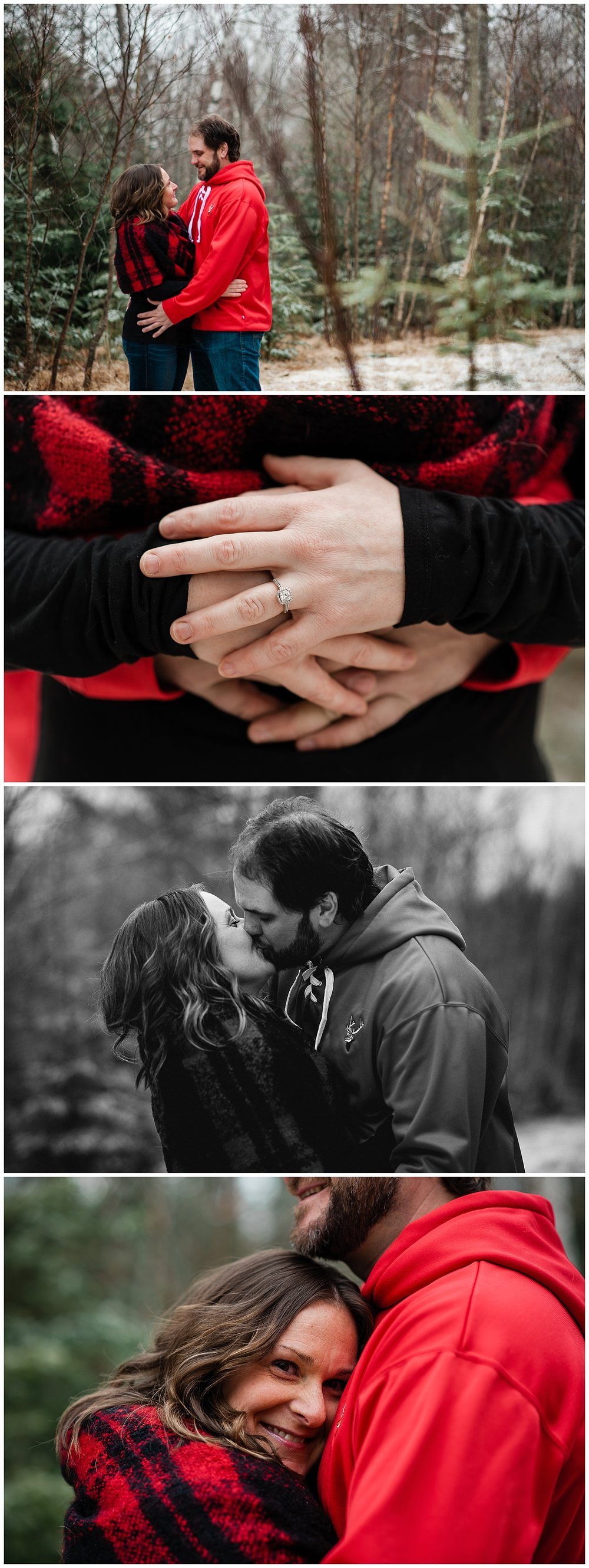 Anne & Brookes - Winter Engagement Session
