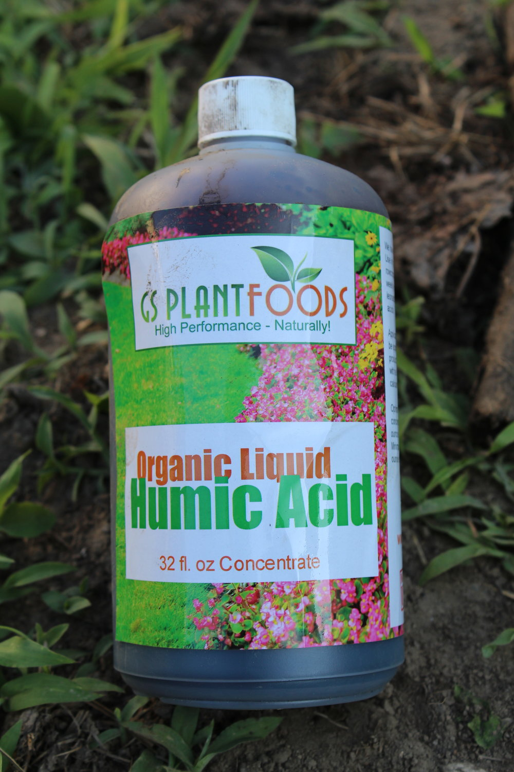 Organic liquid humic acid
