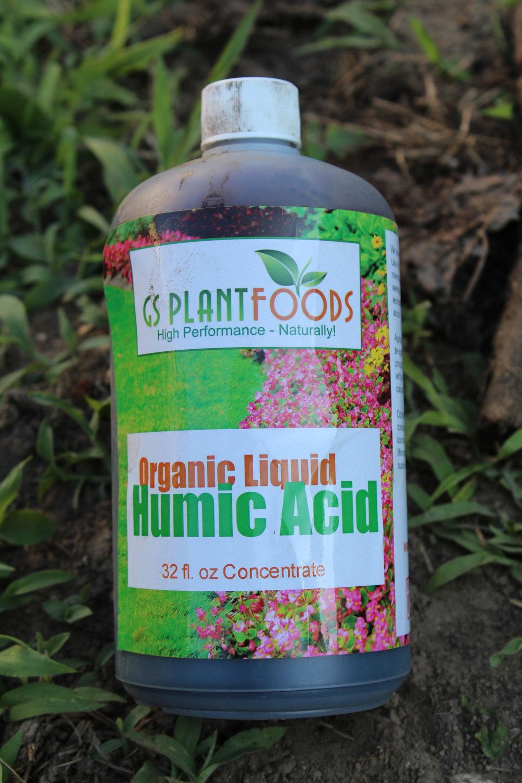 Organic liquid humic acid