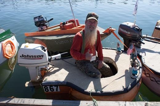 Peanut the motor boat!