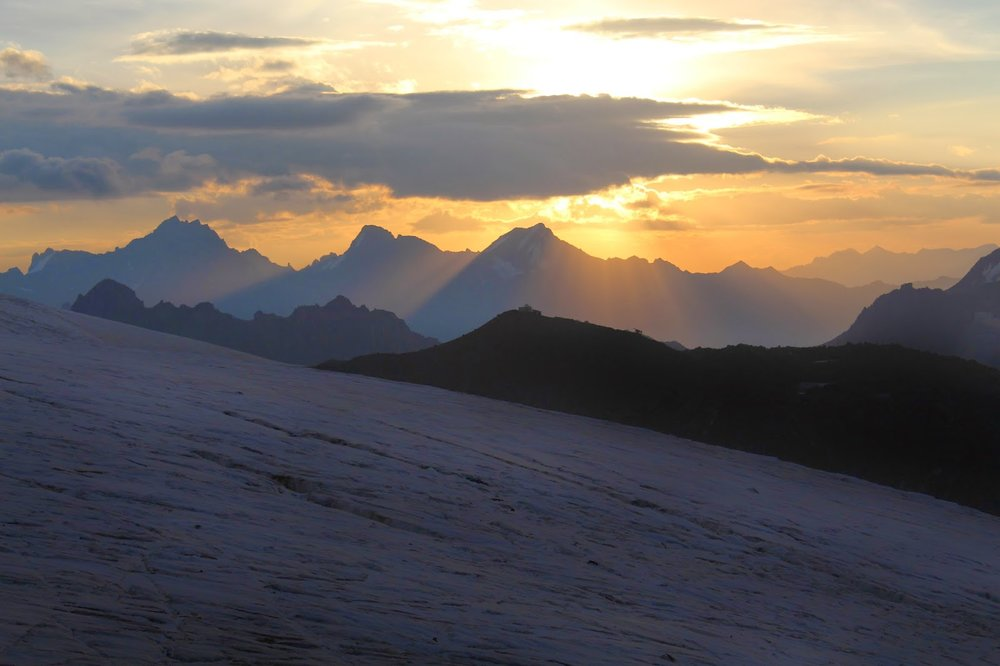 Mount Elbrus sunrise