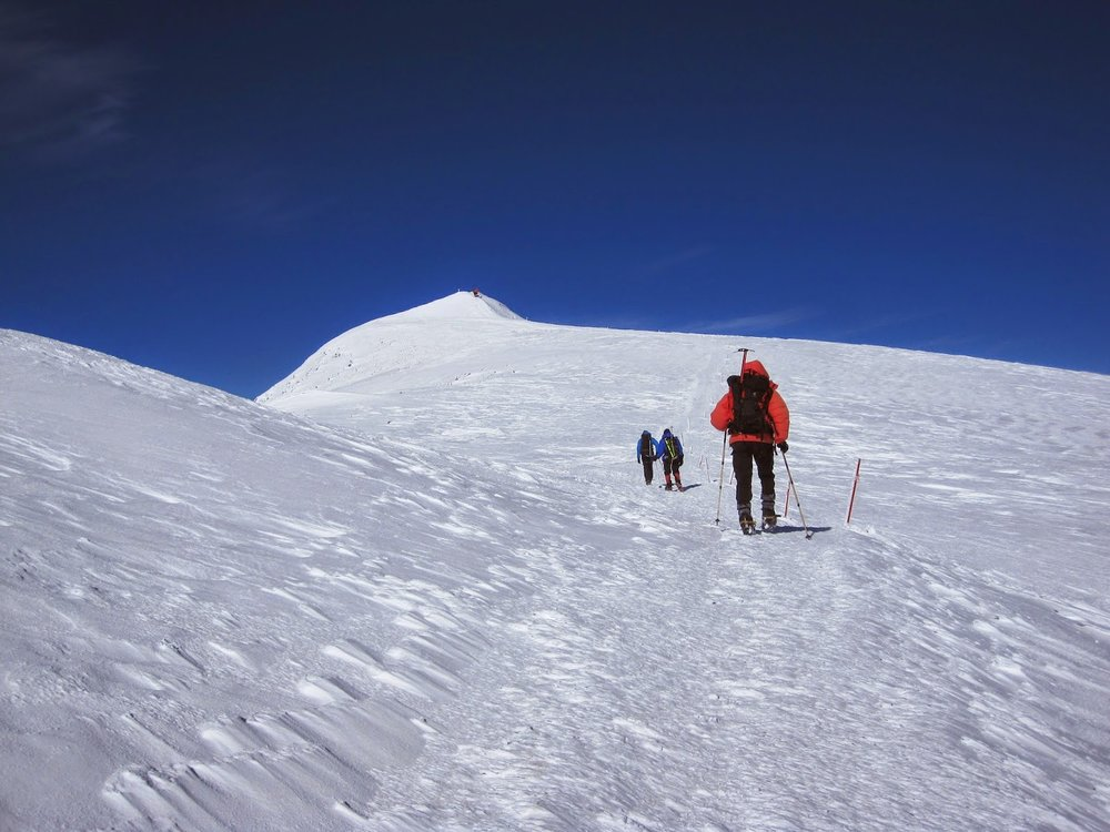 Our push to the summit of Mount Elbrus