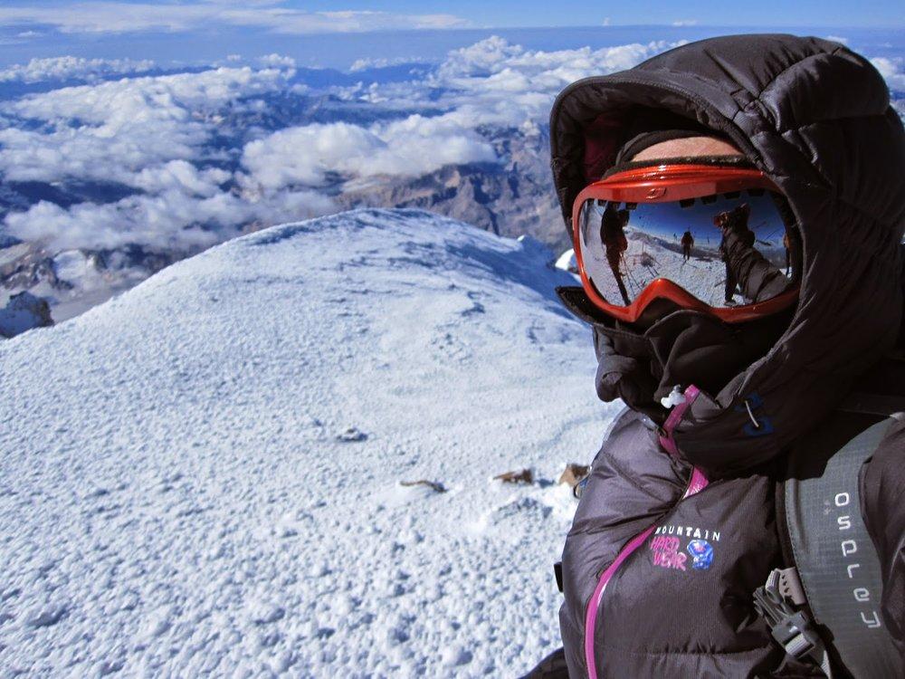 My summit selfie!