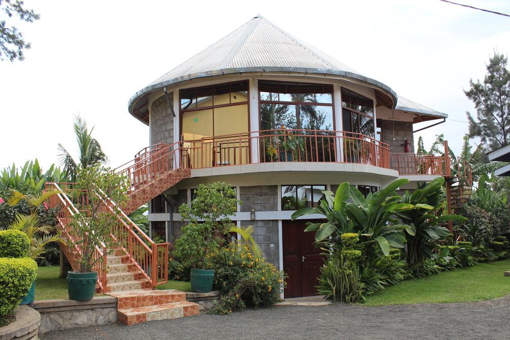 The breakfast area at Tumaini Cottage.