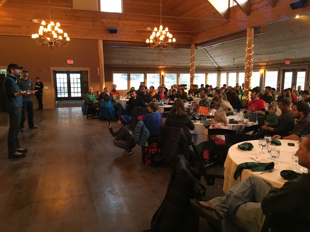 Amazing dinner and awards at The Ponds. Photo courtesy of GMARA.