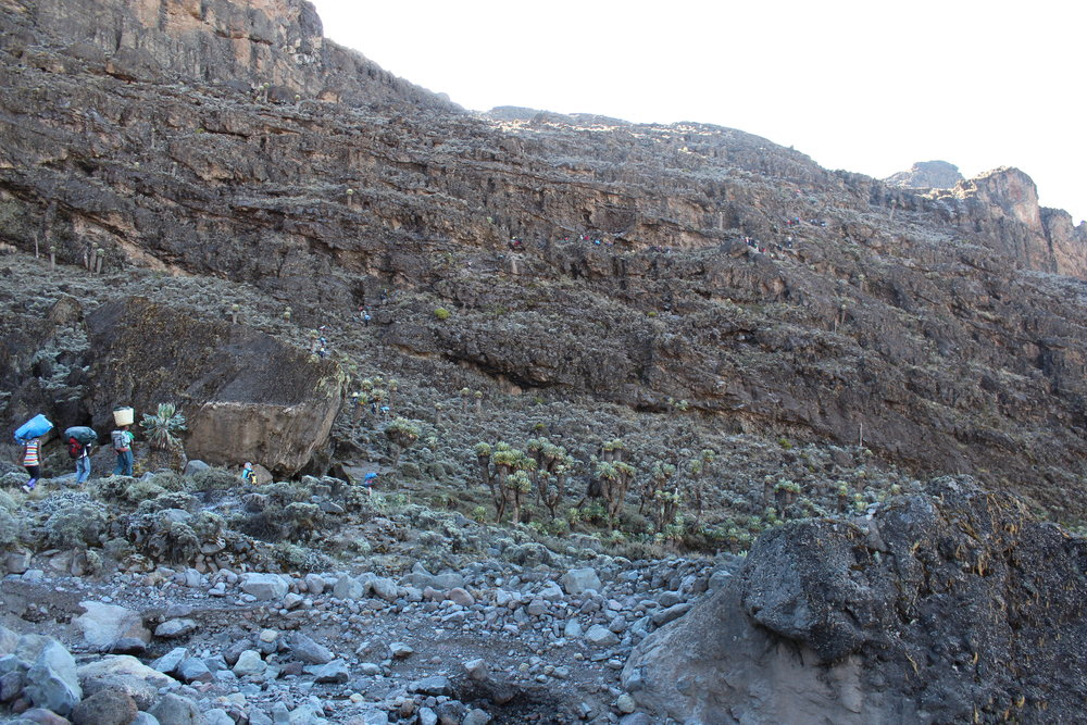 The Barranco Wall