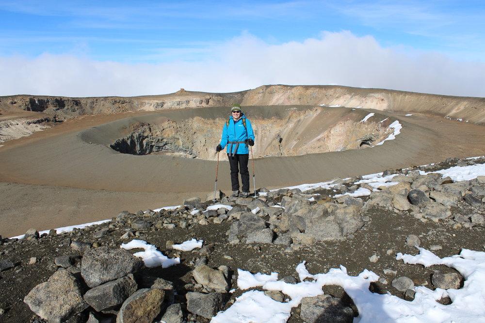 Kilimanjaro's crater