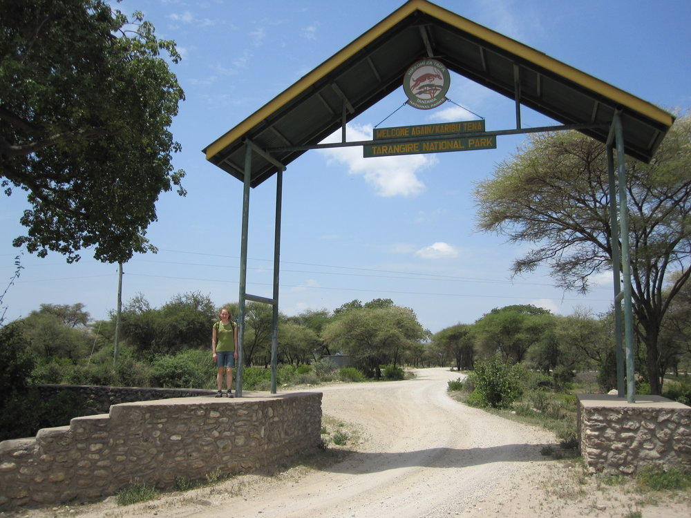 Entrance to Tarangire National Park