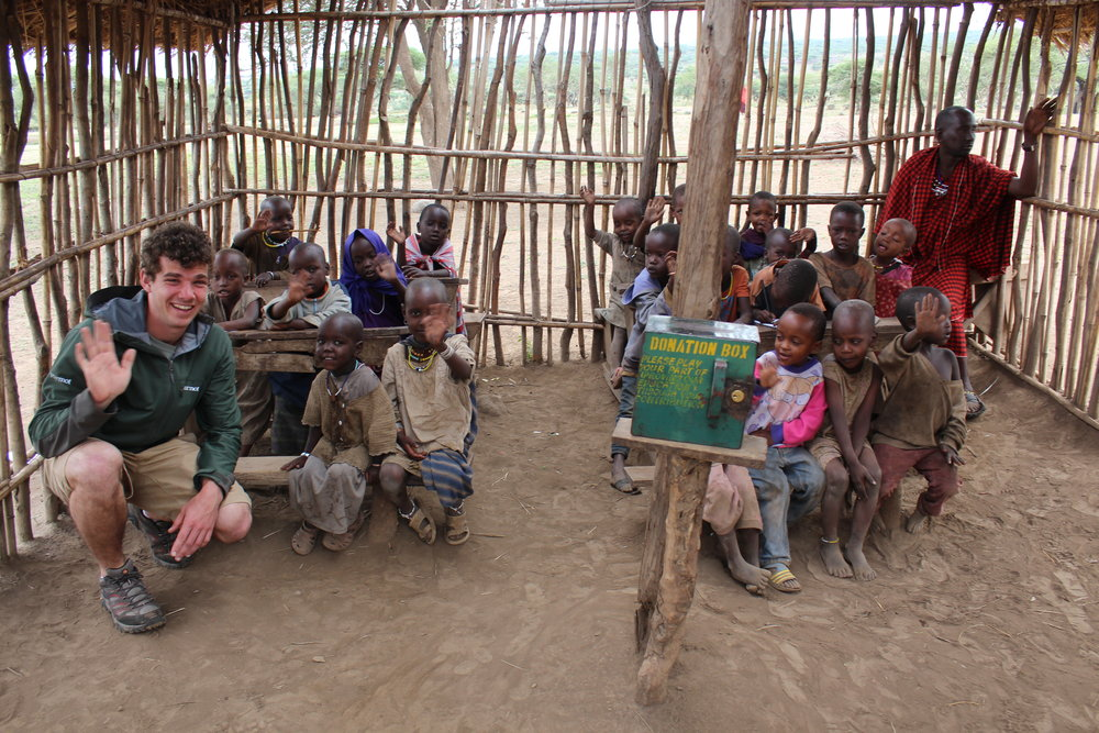 Massai school children