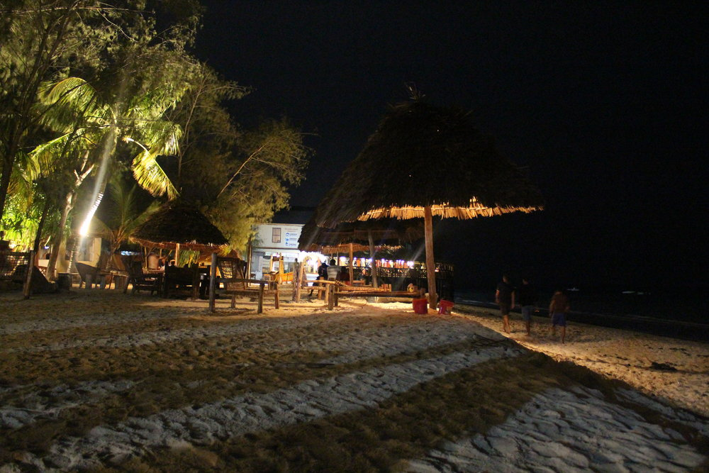 Nungwi, Zanzibar at night