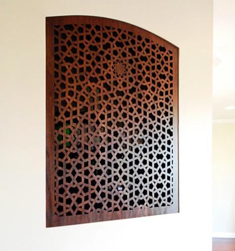 Newhall, CA   Custom wall panel