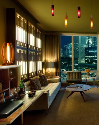 Urban Oasis  Frank Lloyd Wright, decorative lightboxes