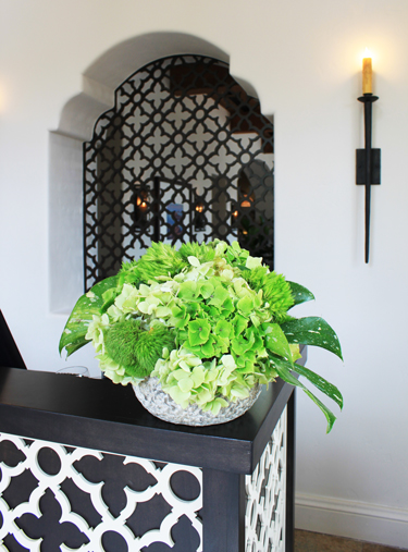Bacara Resort, Goleta, CA - Janie Kasarjian Interiors  Swift Grille, Decorative panels