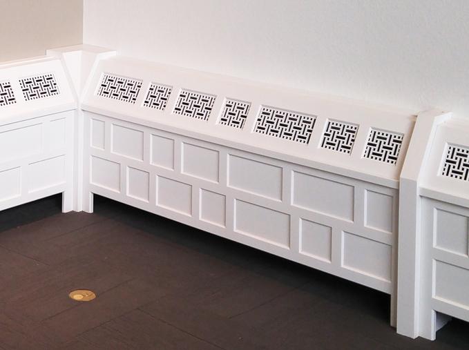 Port Washington, WI - Avenue Design Group  Basketweave, Return air grille