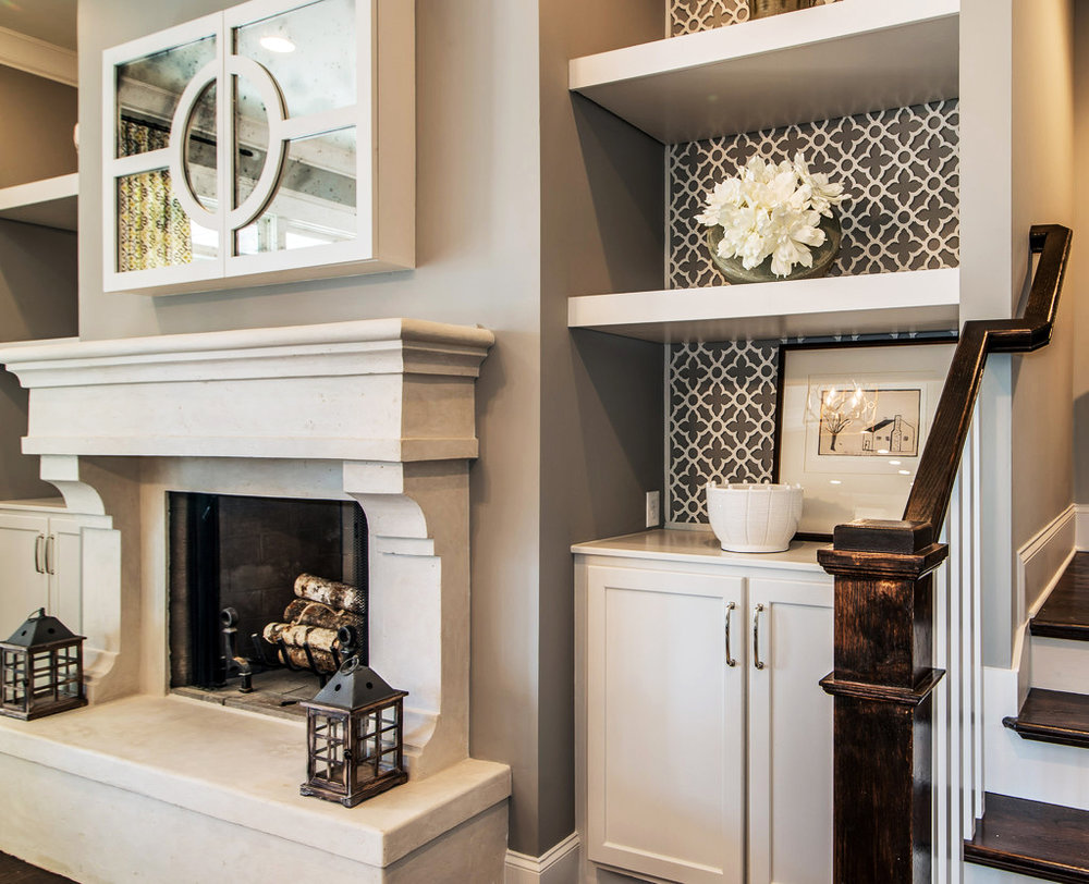 Nashville, TN - JFY Designs - Parade of Homes  Swift Grille, Wall panel