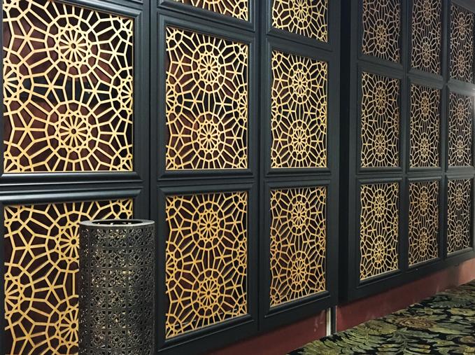 Marrakech, Decorative wall panels
