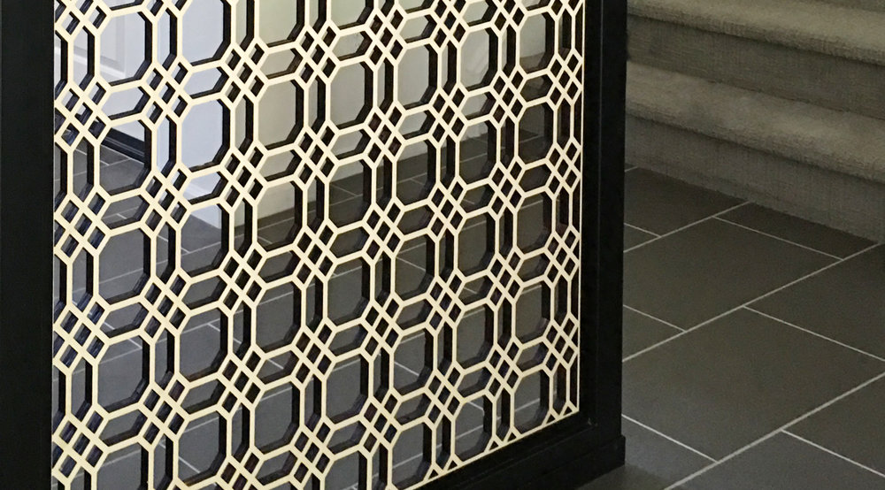 Cal Arc Design  Chicago Grille, Wall partition