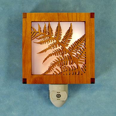 night light - Laser Cut Wood