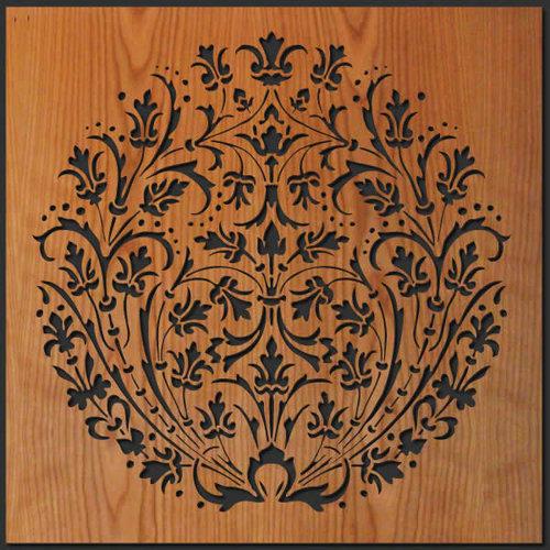 Laser Cut Wall Art rising flowers wood wall art — lightwave laser
