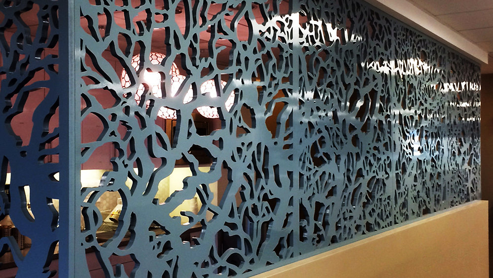 Branches pattern, Room Divider