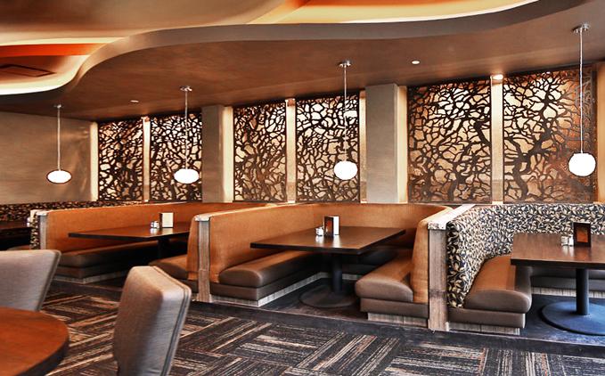 Twigs Restaurant - Paint Room Studios