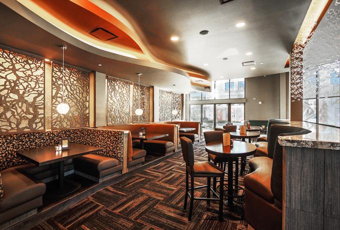 Twigs Restaurant - Paint Room Studios,